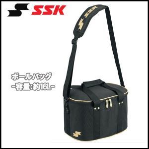 野球 SSK エスエスケイ ボールバッグ ポリエステル製 -容量:約16L-|move