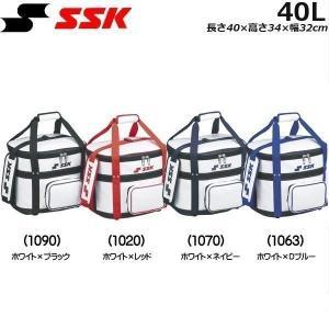 SSK【エスエスケイ】 ボールバッグ PVCエナメル製 -容量:約40L-