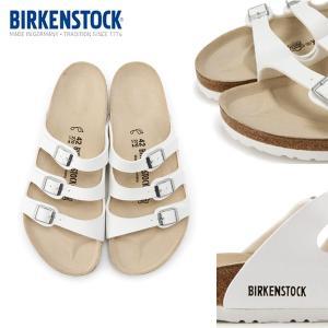 メンズ・レディース サンダル ユニセックスサイズ ビルケンシュトック BIRKENSTOCK FLORIDA ホワイト -正規商品-|move