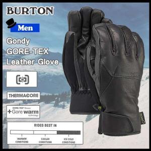 スノーボード グローブ 17-18 BURTON【バートン】GONDY GORE?TEX LEATHER GLOVE|move