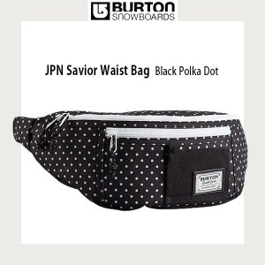 Burton バートン JPN SAVIOR WAIST BLACK POLKA DOT バックパック|move