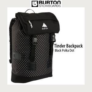 Burton 【バートン】TINDER PACK BLACK POLKA DOT バックパック|move