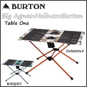 テーブル キャンプ 18ss BURTON バートン TABLE ONE|move