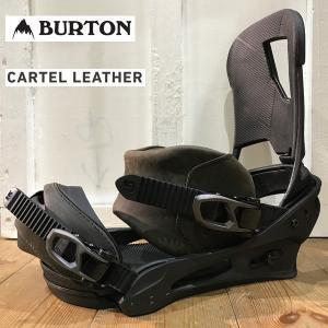 スノーボード バインディング BIN 17-18 BURTON バートン CARTEL ReFlex LETHER|move