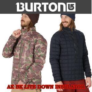 スノーボード インナー インサレーター 17-18 BURTON バートン AK BK LITE DOWN INSULATOR|move