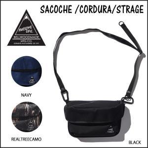 サコッシュ バッグ ポーチ BELLWOODMADE SACOCHE /CORDURA/STRAGE BLACK ベルウッドメイド move