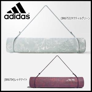 フィットネス ヨガ用 マット アディダス adidas ヨガマット サイズ177×62×0.5cm|move