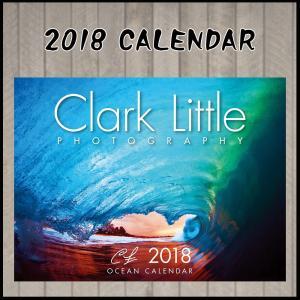 S# 2018年版 クラーク・リトル カレンダー 日本語版 CLARK LITTLE PHOTO GRAPHY|move