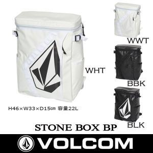 バックパック VOLCOM ボルコム STONE BOX BP 18SS|move