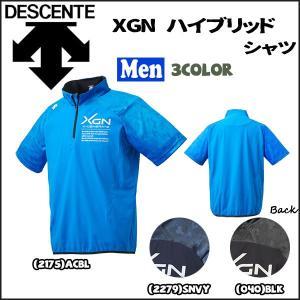 野球 ウェア ベースボールTシャツ 一般 メンズ デサント DESCENTE XGN 半袖 ハイブリッドシャツ|move