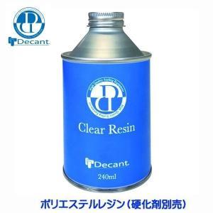 サーフィン リペア用品 デキャント Decant クリアレジン CLEAR RESIN ポリエステル素材(エポキシ不可)|move