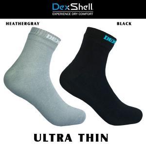ソックス 靴下 防水 DEXSHELL デックスシェル ULTRA THIN|move