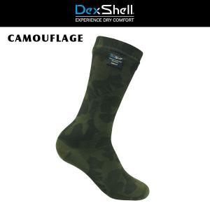 ソックス 靴下 防水 DEXSHELL デックスシェル CAMOUFLAGE|move