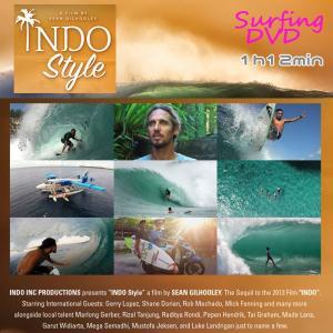 INDO STYLE(インドスタイル) INDOスタイル サーフィンDVD インドネシア ロブ・マチャド move