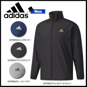 スポーツウェア アディダス adidas メンズ ESSENTIALS 3ストライプス ウインドブレーカージャケット (裏起毛) move