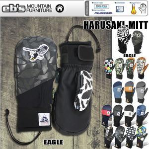 スノーボード グローブ eb's エビス HARUSAKI-MITT ハルサキ・ミット|move