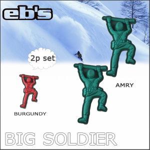 スノーボード デッキパット eb's エビス BIG SOLDIER ビッグソルジャー|move