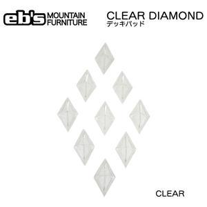 スノーボード デッキパッド 17-18 EBs エビス CLEAR DIAMOND|move