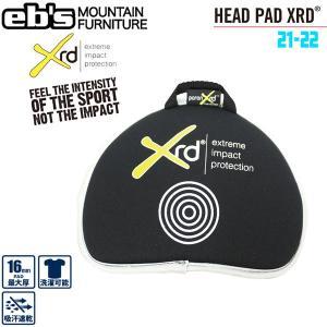 スノーボード プロテクター EBS エビス HEAD PAD-PORON XRD ヘッドパッドポロン|move
