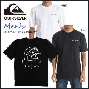 17 QUIKSILVER(クイックシルバー) T-shirts Men SCRIBBLE TEE Tシャツ move