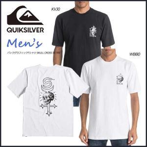 17 QUIKSILVER(クイックシルバー) T-shirts Men SKULL CROSS SS TEE Tシャツ move