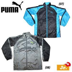 SET# ジュニアスポーツウェア プーマ PUMA ウーブンジャージジャケット|move