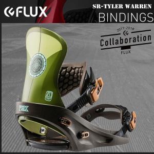 スノーボード バインディング 17-18 FLUX フラックス SR T.WARREN|move