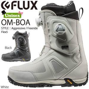 スノーボード ブーツ 靴 ボア 18-19 FLUX BOOTS フラックス OM-BOA オムニボア|move