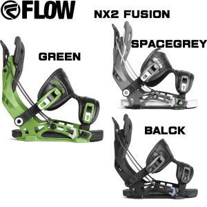 スノーボード バインディング ビンディング 18/19 FLOW フロー NX2 FUSION エヌエックス2 move