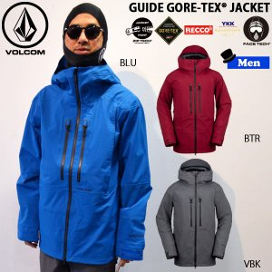 スノーボード ウエア ウェアー メンズ 18-19 SNOW VOLCOM ボルコム GUIDE GORE-TEX JKT ガイドゴアテックスジャケット|move