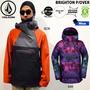 スノーボード ウエア ウェアー メンズ 18-19 SNOW VOLCOM ボルコム BRIGHTON P/OVER ブライトンプルオーバージャケット|move