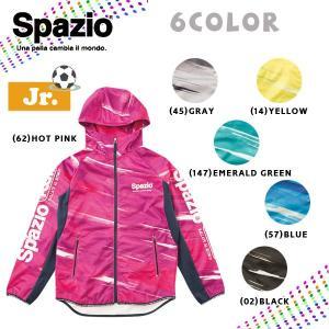 サッカーウェア ジュニア スパッジオ Spazio JR meteor training parka トレーニングパーカー move