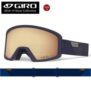 スノーボード スキー ゴーグル 18-19 GIRO ジロ BLOK AF ブロックアジアンフィット MIDNIGHT PEAK VIVID COPPER20|move