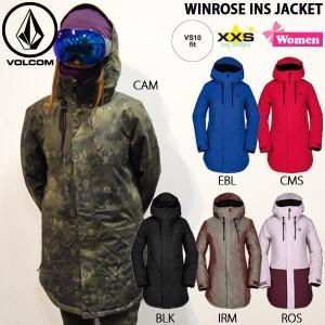 スノーボード ウエア ウェアー ウーマンズ 18-19 SNOW VOLCOM ボルコム WINROSE INS JACKET ウィンローズジャケット|move