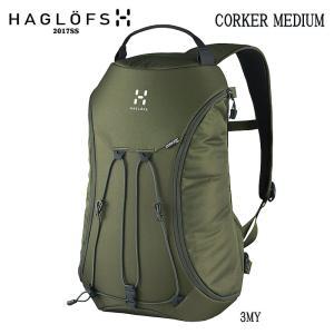 ホグロフス バックパック HAGLOFS CORKER MEDIUM デイパック|move