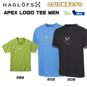 HAGLOFS APEX LOGO TEE ホグロフス Tシャツ|move