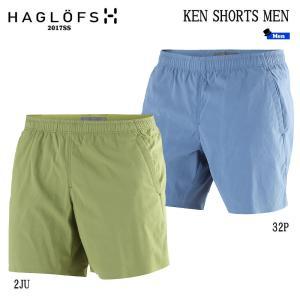 HAGLOFS(ホグロフス) KEN SHORTS MEN メンズショートパンツ(アジアンスタイル)  (HAGLOFS_2017SS) (wed-01)|move