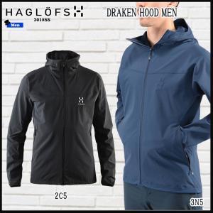 ホグロフス Haglofs DRAKEN HOOD MEN (ASIA スタイルB)  (HAGLOFS_2018SS)|move