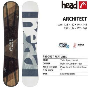スノーボード 板 18/19 HEAD ヘッド ARCHITECT アーキテクト|move