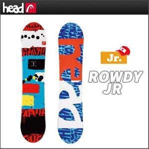 スノーボード 板 HEAD ヘッド ROWDY JR ジュニ...
