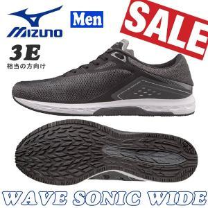ランニングシューズ ミズノ MIZUNO WAVE SONIC WIDE ランニング|move
