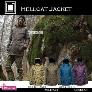 L1TA HELLCAT JACKET 【リタ】スノーボードウエア/レディース