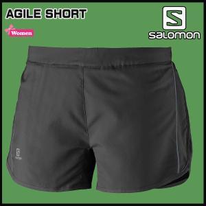 SALOMON(サロモン) AGILE SHORT Women カラー:BLACK|move
