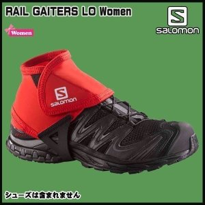 SALOMON(サロモン) TRAIL GAITERS LOW   カラー:BRIGHT RED|move