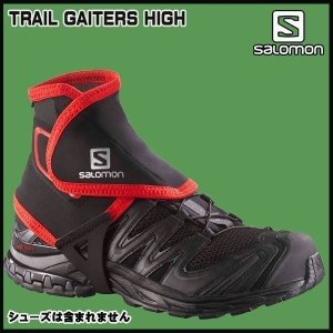 SALOMON(サロモン) TRAIL GAITERS HIGH カラー:BLACK|move