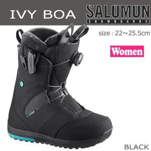 スノーボード ブーツ 靴 17-18 SALOMON【サロモン】IVY BOA レディース<br>|move