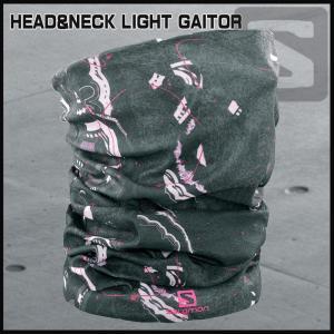サロモン Salomon HEAD&NECK LIGHT GAITOR DARKEST SPRUCE|move