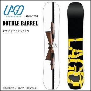 スノーボード ボード 板 17-18 LAGO【ラゴ】DOUBLE BARREL |move