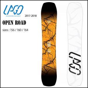 スノーボード ボード 板 17-18 LAGO【ラゴ】OPEN ROAD |move