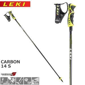 スキー ストック ポール スキーストック 17-18 LEKI 【レキ】 CARBON 14 S <br>|move
